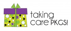 taking care PKGS! logo