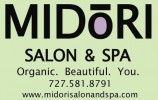 Midori Salon and Spa logo