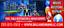 Billiard Man, LLC