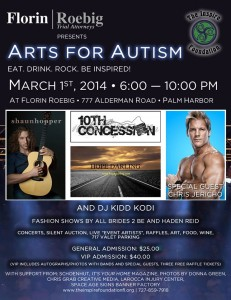 Arts for Autism 2014