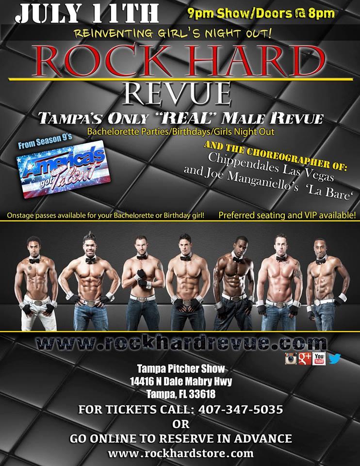 Rock Hard Revue Tampa