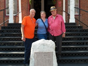 Photo of Tour Guide, Raymond, ShoutOUT Founder Heather and Ybor Ambassador, Bob