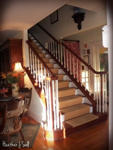 Photo of inside staircase, Sea Breeze Manor B&B Inn Gulfport, FL
