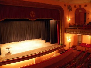 Photo of the Theater inside the El Centro Asturiano