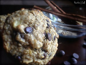 Photo of Banana Oat Greek Yogurt Muffins with Pacari Premium Organic Chocolate Drops