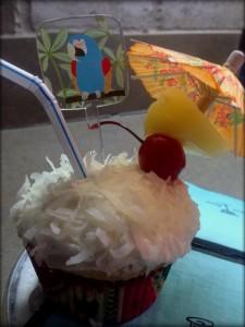 Coconut Cupcake-colada