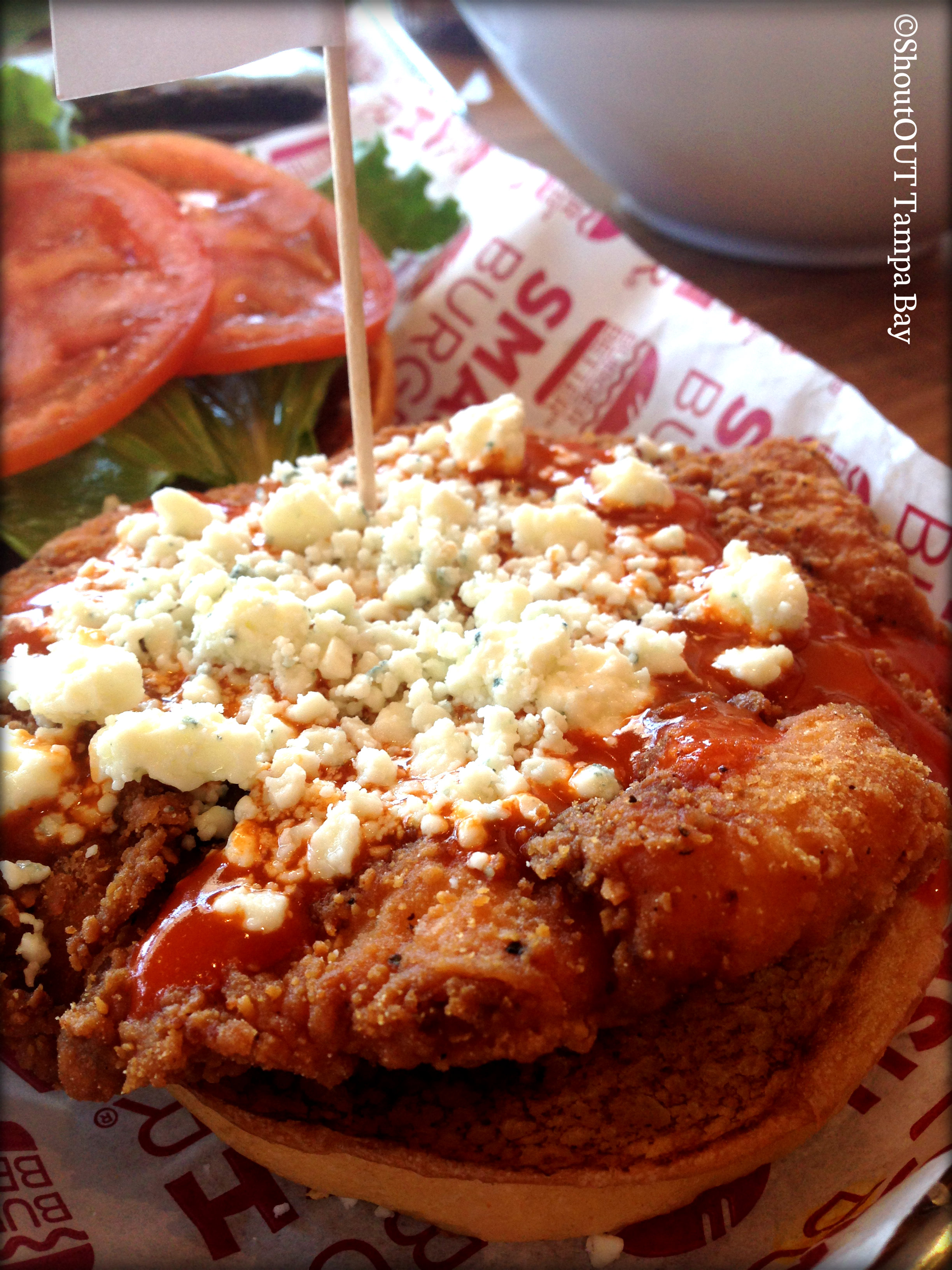 Buffalo & Bleu Cheese Chicken