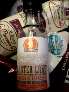 image of Crater Lake Hazelnut Espresso infused vodka