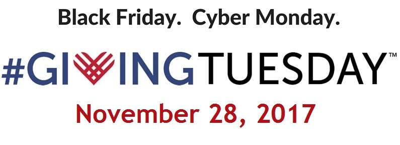 image for Black Friday. Cyber Monday. Giving Tuesday.