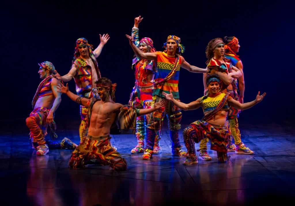image of Cirque du Soleil VOLTA Costumes