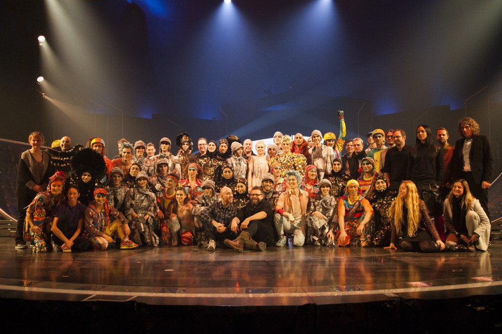 image of Cirque du Soleil Cast and Crew VOLTA
