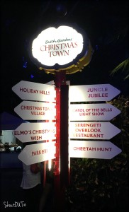 Christmas Town Signage