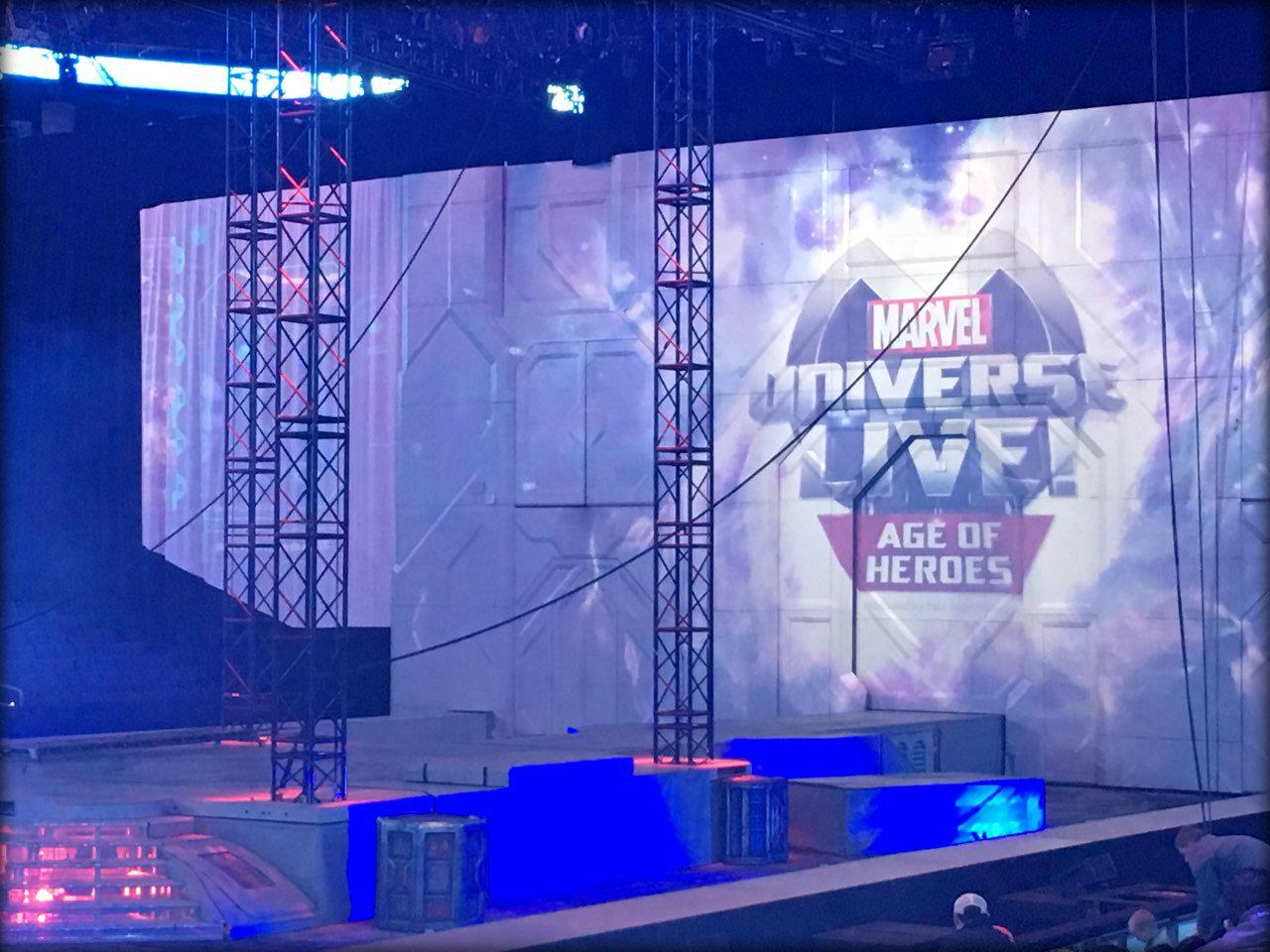 Image of Marvel Universe LIVE! stage