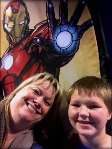 Me, Nephew, Iron Man