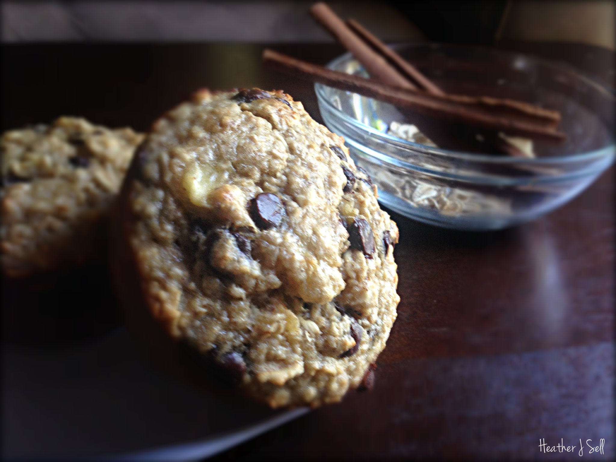 Photo of Banana Oat Greek Yogurt Muffins