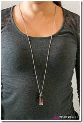 Photo of Awestruck necklace by Paparazzi