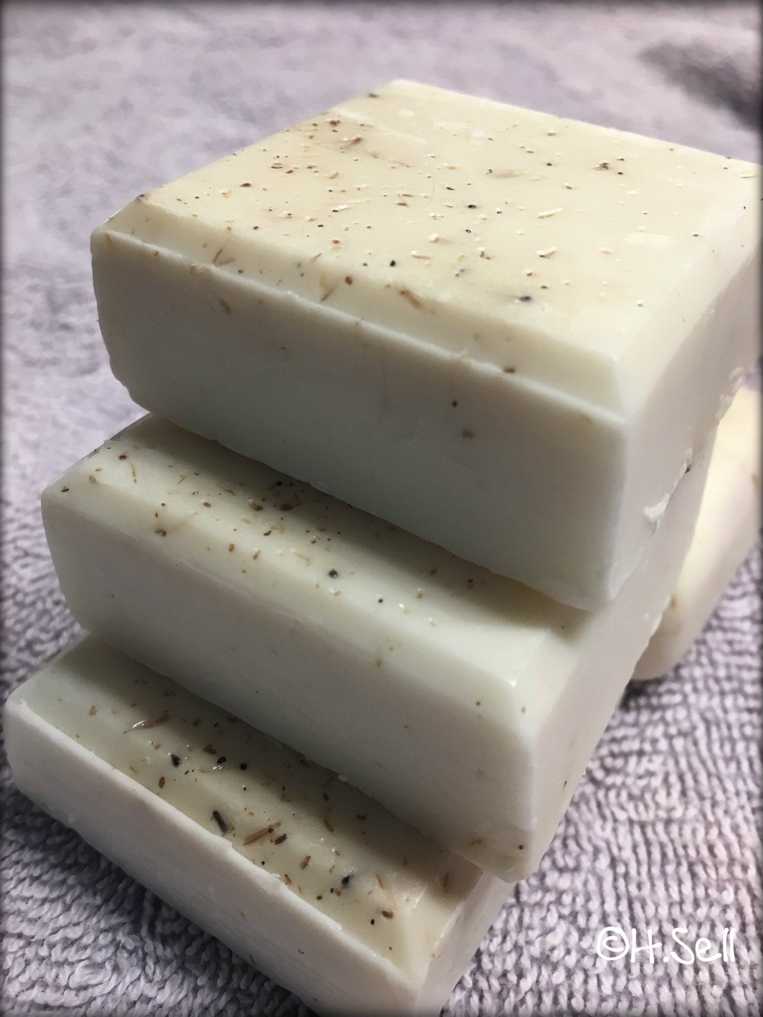 image of lavender goat milk soap by Country Garden Farm